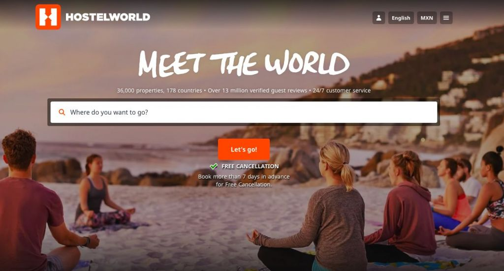 Find Cheap Hostel Stays with Hostel World