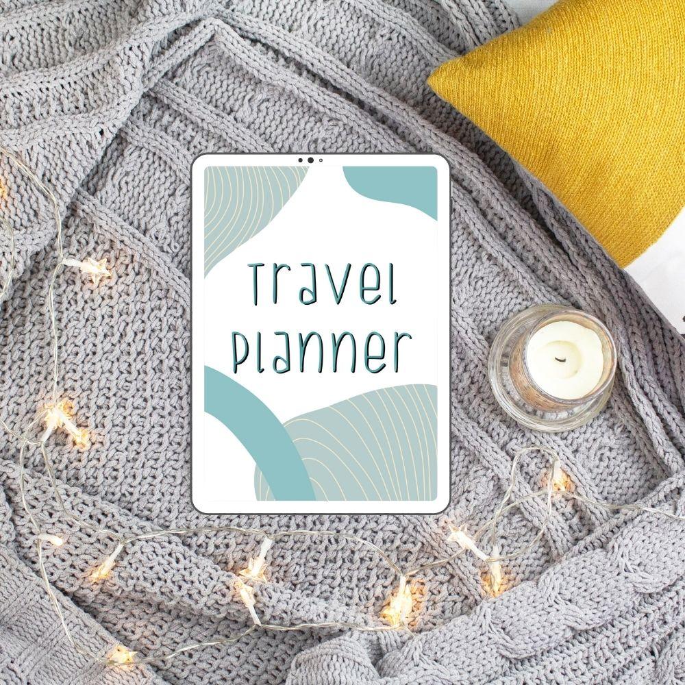 Buy a Digital or Printable Travel Planner