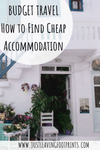Budget Travel - How to Find Cheap Accommodation