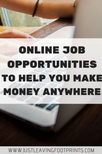 Online Job Opportunities to Help You Make Money from Anywhere