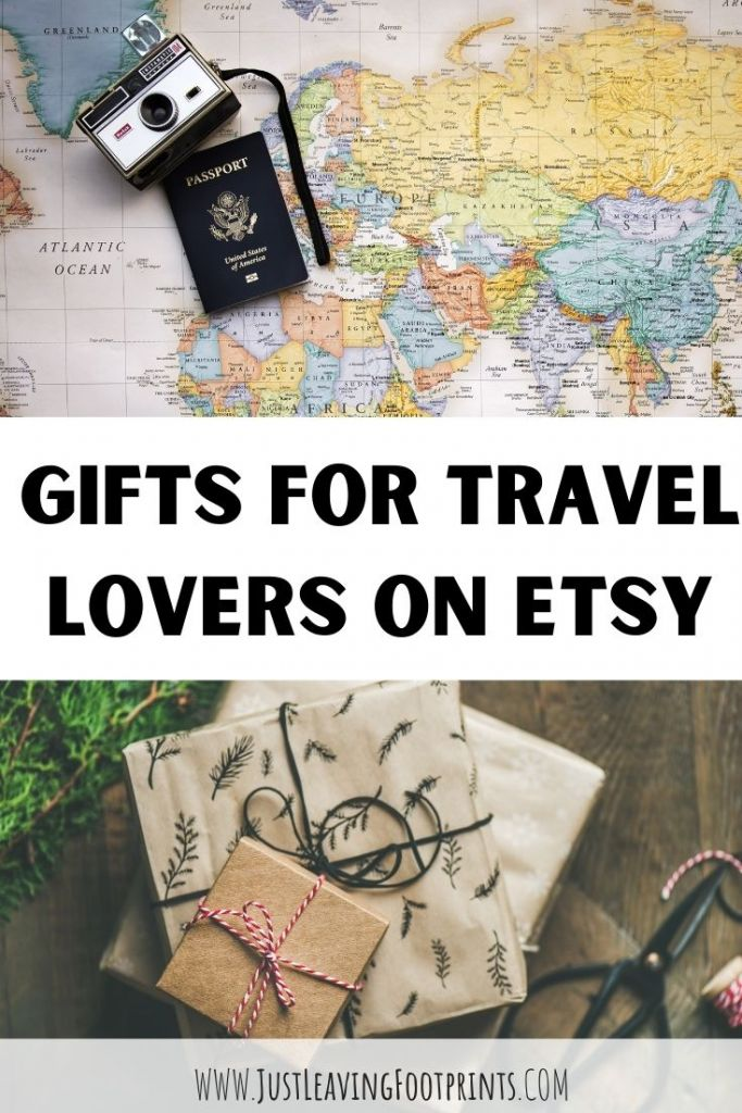Gifts for Travel Lovers on Etsy
