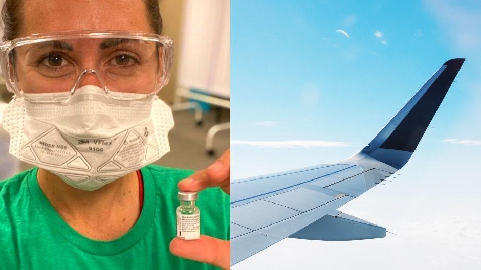 Vaccinated Travel: COVID-19 Nurse, Emily Scott, Answers FAQ